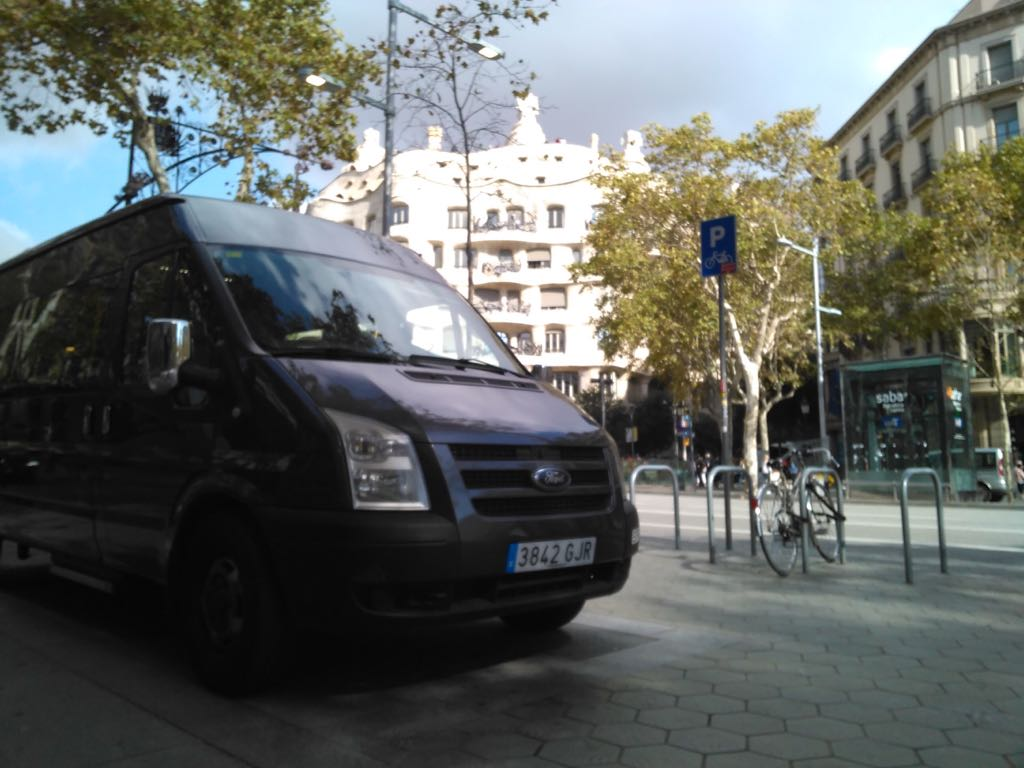 Minibús 9 Plazas
