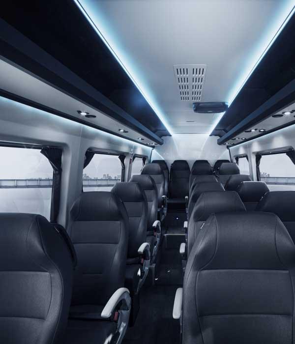 minibus 22 pax