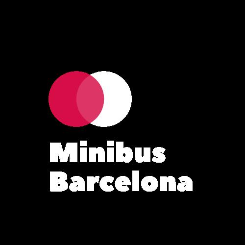 Logo Minibús Barcelona Blanco